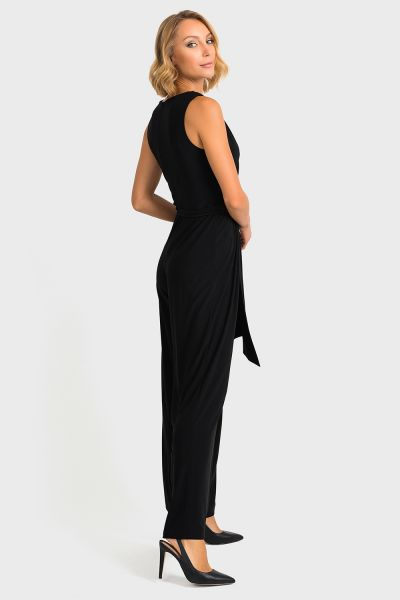 Joseph Ribkoff Black Jumpsuit Style 193050