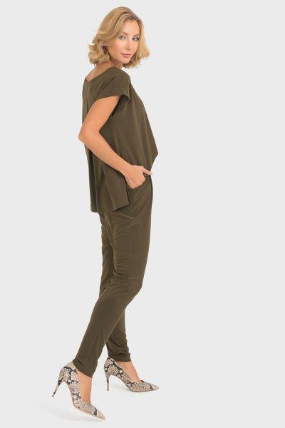 Joseph Ribkoff Khaki Jumpsuit Style 193052
