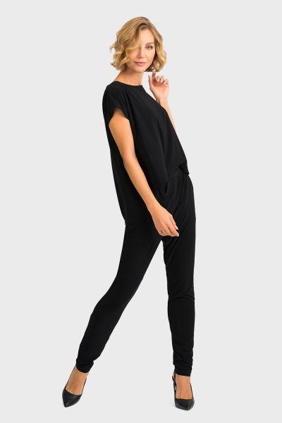Joseph Ribkoff Black Jumpsuit Style 193052