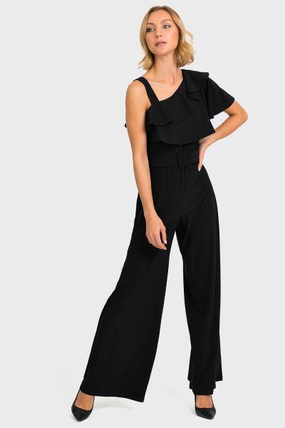 Joseph Ribkoff Black Jumpsuit Style 193054