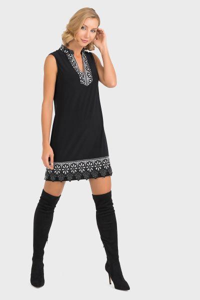 Joseph Ribkoff Black Dress Style 193060