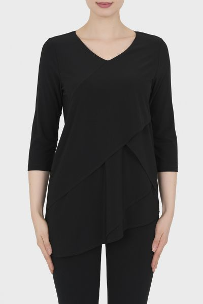 Joseph Ribkoff Black Tunic Style 193083