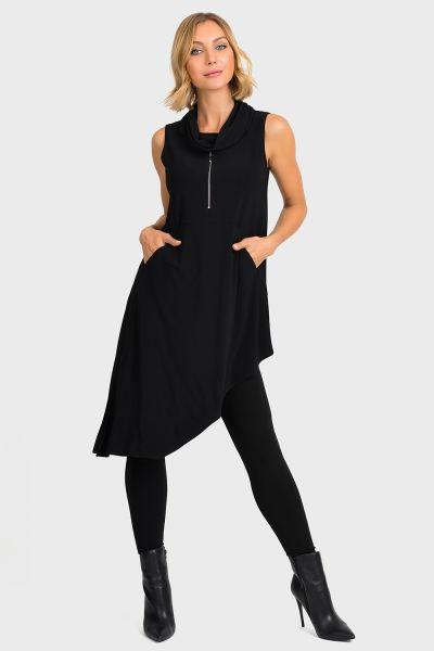 Joseph Ribkoff Black Tunic  Style 193087