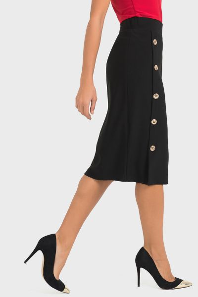 Joseph Ribkoff Black Skirt Style 193090
