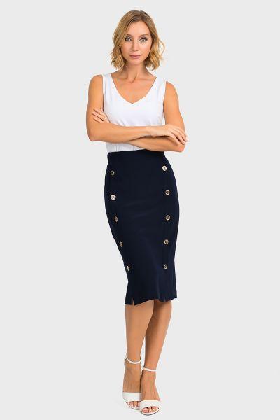 Joseph Ribkoff Midnight Blue Skirt Style 193090