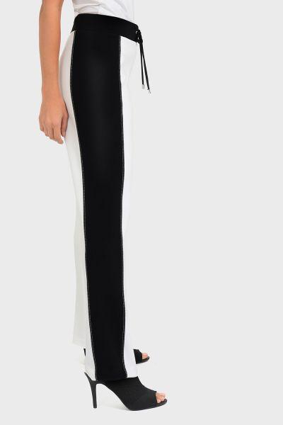 Joseph Ribkoff Vanilla/Black Pant Style 193108