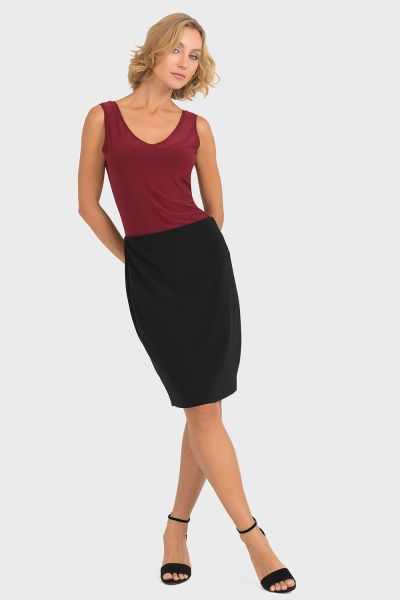 Joseph Ribkoff Imperial Red Top Style 193166