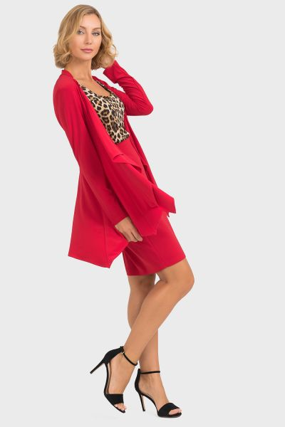 Joseph Ribkoff Imperial Red Cover Up Style 193177