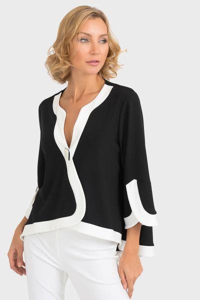 Joseph Ribkoff Black/Vanilla Jacket Style 193193