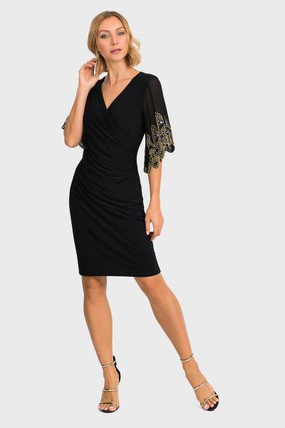 Joseph Ribkoff Black Dress Style 193200