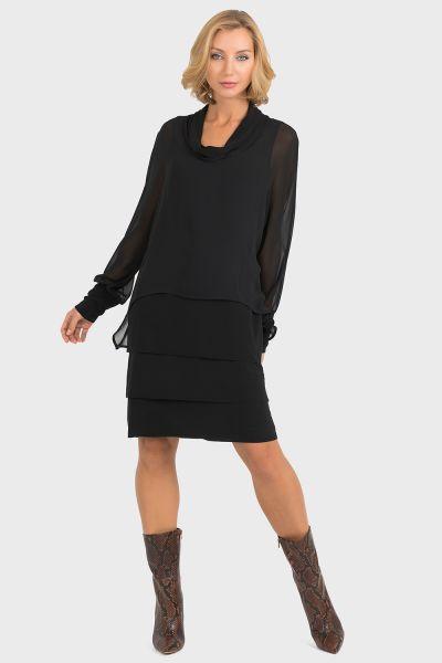 Joseph Ribkoff Black Dress Style 193202