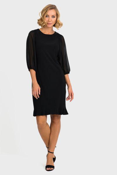 Joseph Ribkoff Black Dress Style 193204