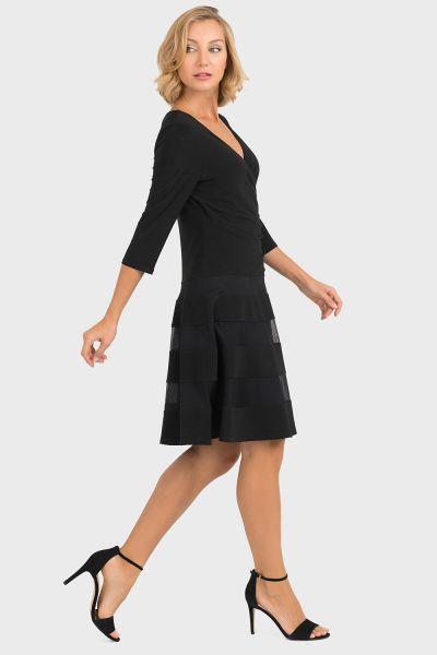 Joseph Ribkoff Black Dress Style 193293