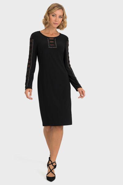 Joseph Ribkoff Black Dress Style 193296