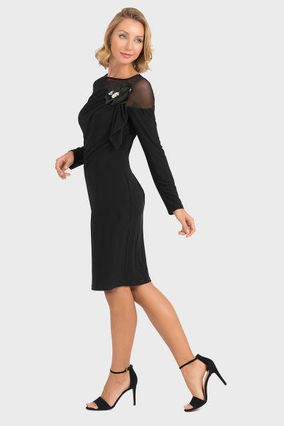 Joseph Ribkoff Black Dress Style 193297