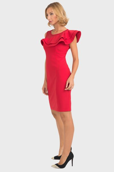 Joseph Ribkoff Red Dress Style 193298