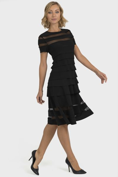Joseph Ribkoff Black Dress Style 193310