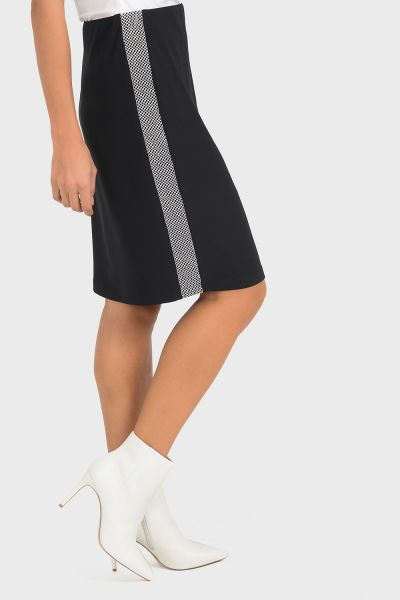 Joseph Ribkoff Black Skirt Style 193317
