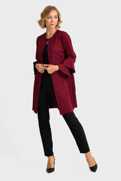 Joseph Ribkoff Imerial Red Coat Style 193362