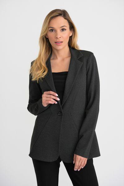 Joseph Ribkoff Charcoal Jacket Style 193364