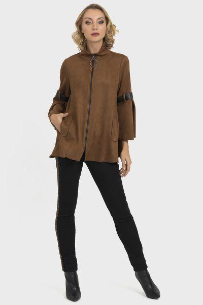 Joseph Ribkoff Brown Jacket Style 193394