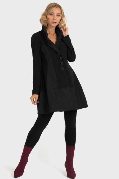 Joseph Ribkoff Black Coat Style 193425