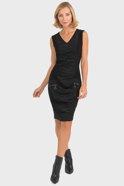 Joseph Ribkoff Black Dress Style 193430