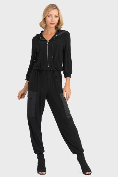 Joseph Ribkoff Black Jumpsuit Style 193436