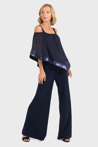 Joseph Ribkoff Midnight Blue Jumpsuit Style 193439