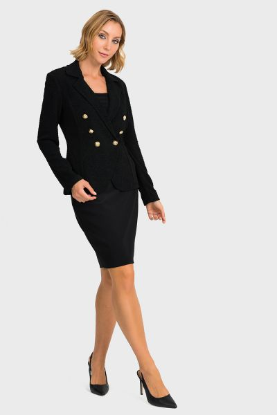 Joseph Ribkoff Black Jacket Style 193441