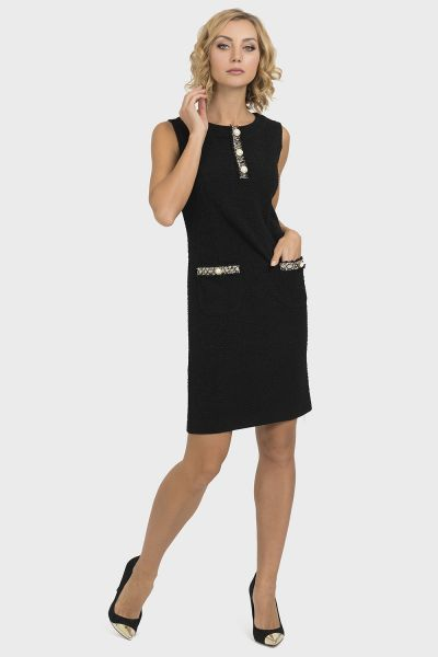 Joseph Ribkoff Black Dress Style 193444