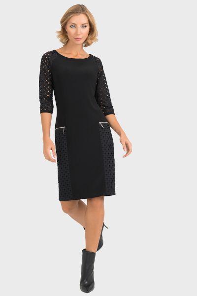 Joseph Ribkoff Black Dress Style 193459