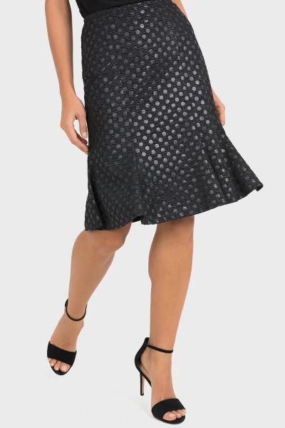 Joseph Ribkoff Black/Silver Skirt Style 193464