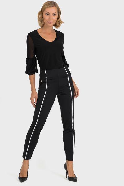 Joseph Ribkoff Black/White Pants Style 193467