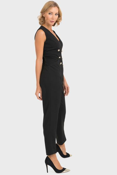Joseph Ribkoff Black Jumpsuit Style 193484