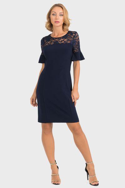 Joseph Ribkoff Midnight Blue Dress Style 193509