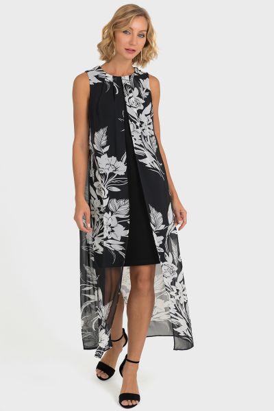 Joseph Ribkoff Black/White Dress Style 193578