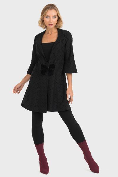 Joseph Ribkoff Black Coat Style 193629