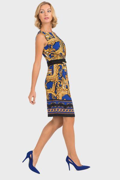 Joseph Ribkoff Royal/Black Dress Style 193632