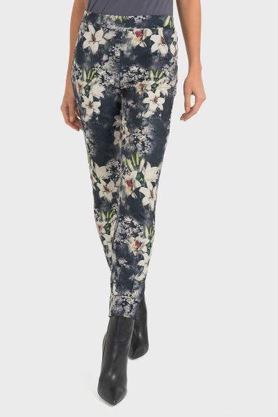 Joseph Ribkoff Black/Grey Pants Style 193639