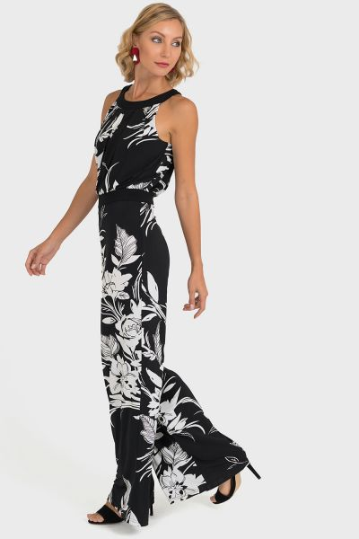 Jospeh Ribkoff Black/White Jumpsuit Style 193648