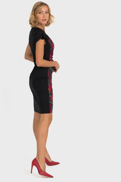 Joseph Ribkoff Black/Multi Dress Style 193652