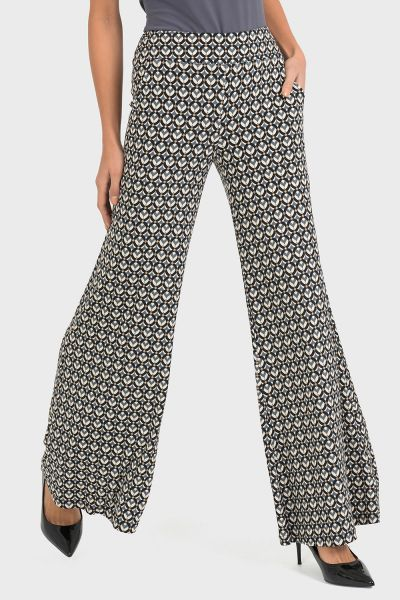 Joseph Ribkoff Black/Grey Pant Style 193683