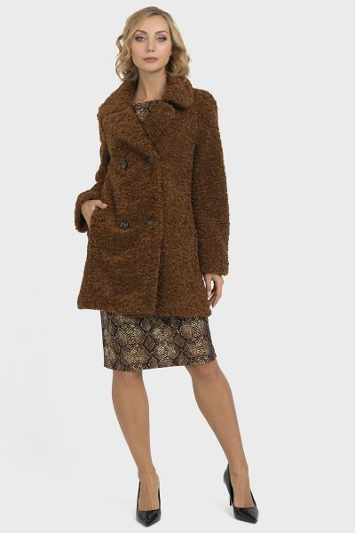 Joseph Ribkoff Brown Coat Style 193719