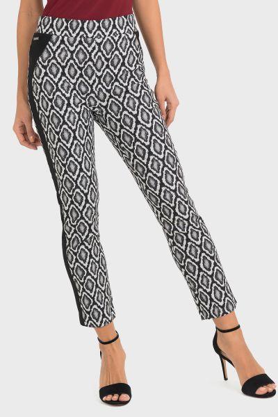 Joseph Ribkoff Black/White Pants Style 193738
