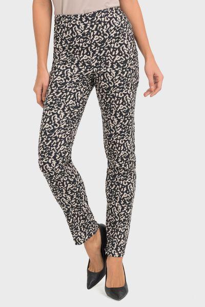 Joseph Ribkoff Black/Beige Pants Style 193772