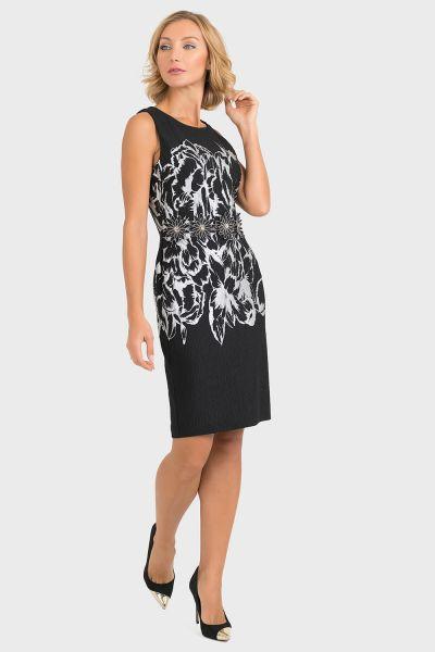 Joseph Ribkoff Black/White Dress Style 193785