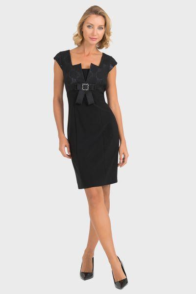 Joseph Ribkoff Black Dress Style 193788