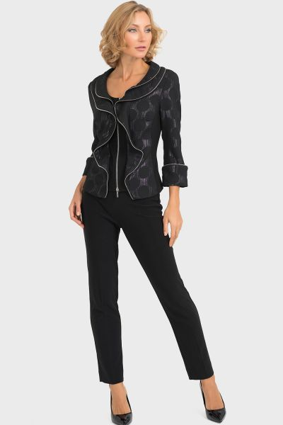 Joseph Ribkoff Black Jacket Style 193789