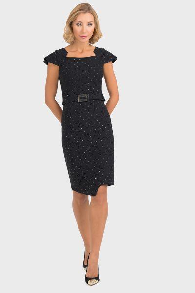 Joseph Ribkoff Black Dress Style 193793